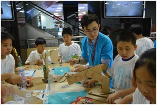 首届全国青少年创客联赛北京赛区拉开战幕图片