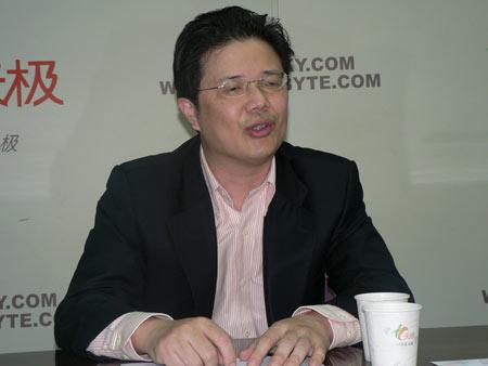 cgogo科技有限公司ceo朱波(照片来源天极网)